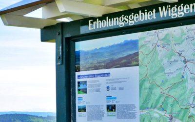Wandern rund um das Erholungsgebiet Wiggensbach
